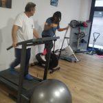 Los trabajadores usan el gimnasio para hacer deporte en sus horas libres