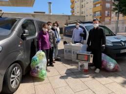 Donaciones de Frihostel y Asociación de Sardineros