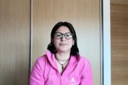 Marcia García, auxiliar de enfermería