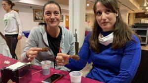 Buñuelos con chocolate para despedir la Semana Santa