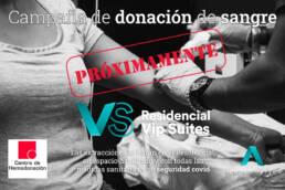 Próxima campaña de donación de sangre